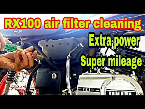 RX100||air filter cleaning||super power||extra mileage||malayalam video