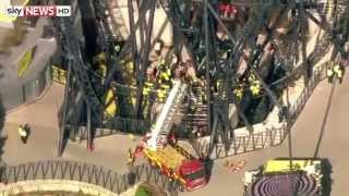 Alton Towers Smiler Crash Sky News Report.