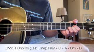 Mumford And Sons The Wolf Acoustic Guitar Lesson