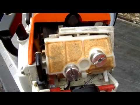 Stihl 024 Av Garage Sale Purchase Choke Repair