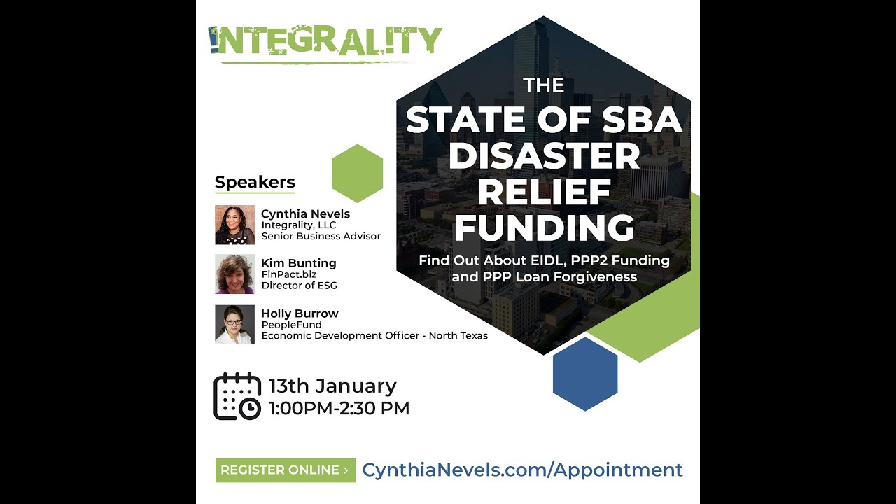 Integrality, LLC Presents the 2021 State of SBA Disaster Relief : PPP2