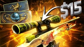 GANHEI DRAGON LORE COM $15 - CS:GO DE NOOB À GLOBAL #94