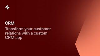 CRM App   Glide