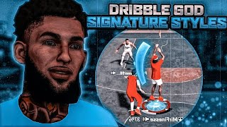 NBA 2K20 GLITCHIEST SIGNATURE STYLES EXPOSED   BECOME THE BEST DRIBBLE DEMON ASAP