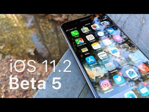 iOS 11.2 Beta 5 - What's New?