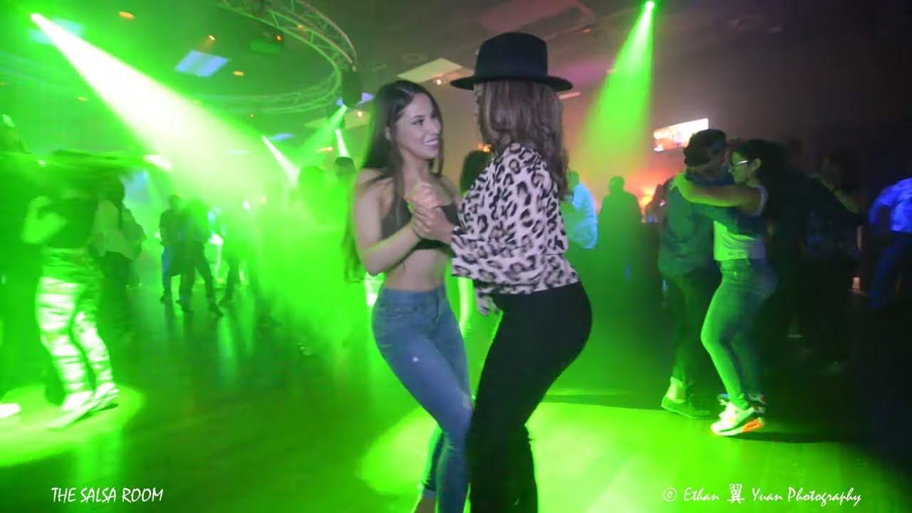 Wandaisha Lopez Amp Bianca Derival Bachata Social Dance At