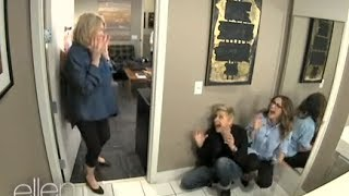 Ellen Show - Memorable Moment: Ellen and Julia Scare Martha Stewart   (6/3/14)  - FULL INTERVIEW HD