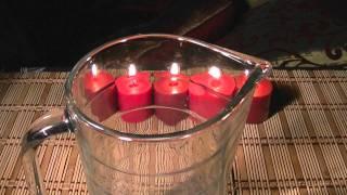 Experimentos caseros sorprendentes - Velas, vinagre y bicarbonato