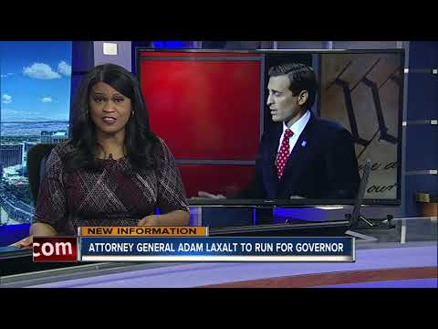 Attorney General Adam Laxalt announces run for governor