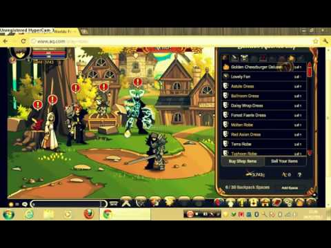 Unlock Classes cheats for Adventure Quest Worlds on PC