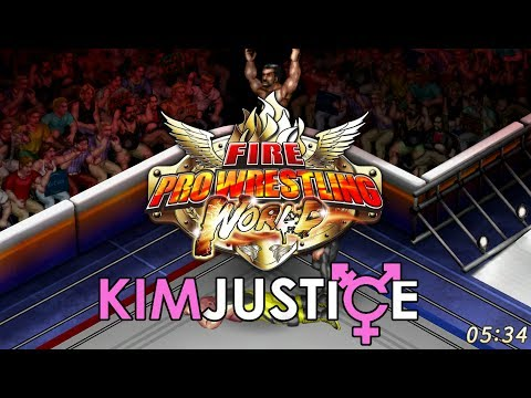 Fire Pro Wrestling World Review (PC) + A Brief History of Fire Pro - Kim Justice