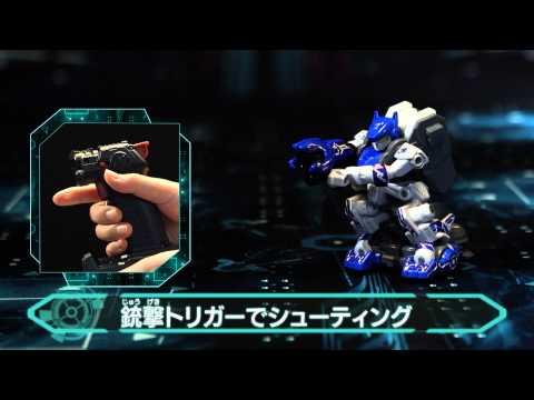 中文版雙機裝日本TAKARA-TOMY-GAGANGUN對戰機器人/武器配置