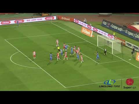 Linglong Tire Super Liga 2019/20 - 4.Kolo CRVENA ZVEZDA – MLADOST 2:0 (2:0)