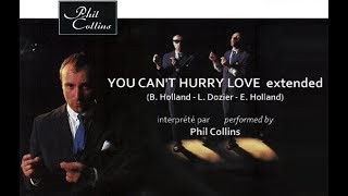 Phil Collins - You can't hurry love HQ - extended version