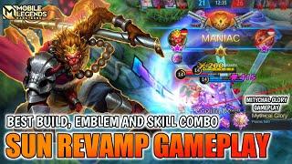 Sun Revamp Gameplay , Best Build And Skill Combo - Mobile Legends Bang Bang screenshot 5