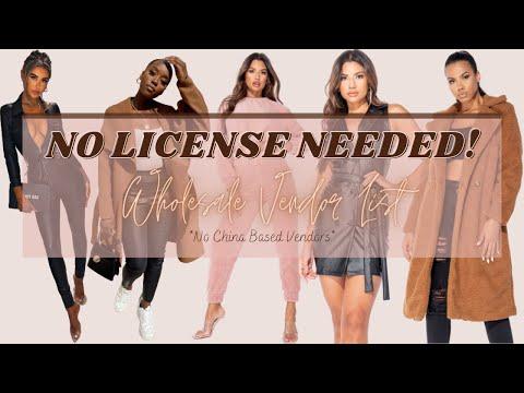 🤯 Free No License Needed Wholesale Vendor List