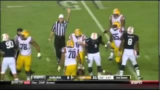 2013 LSU vs Auburn football highlites