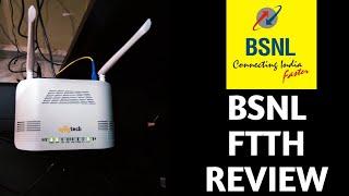 BSNL FTTH REVIEW||AFTER 4 MONTHS||BHARAT FIBRE REVIEW||BSNL FTTH BROADBAND||BSNL TELECOM OPERATOR||