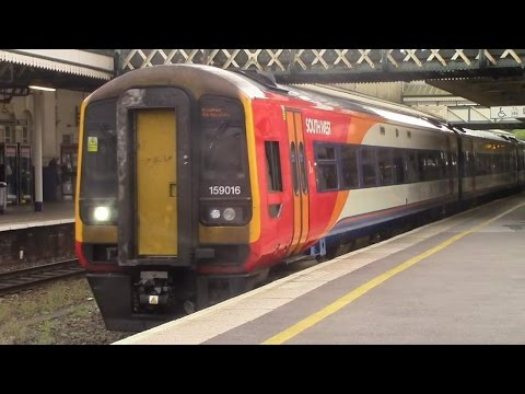 Trains At Exeter St Davids Gwml Rl Part 1 24 9 16 Youtube