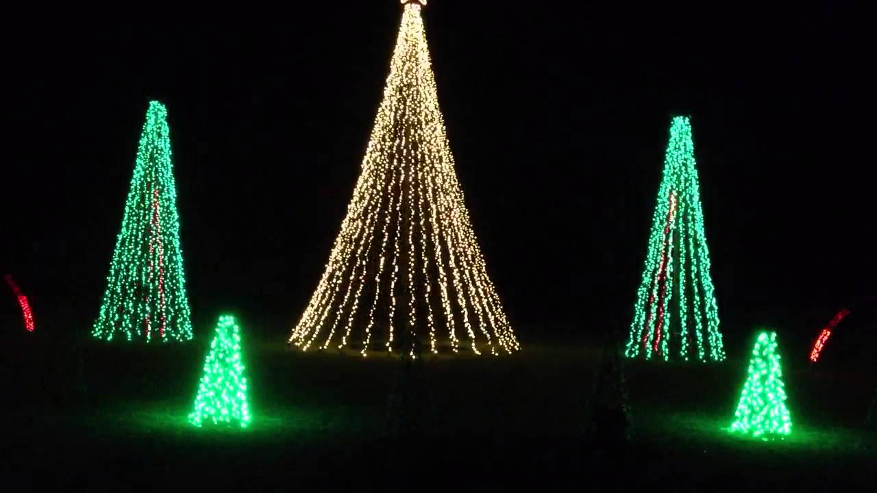 Dancing Christmas Tree Lights