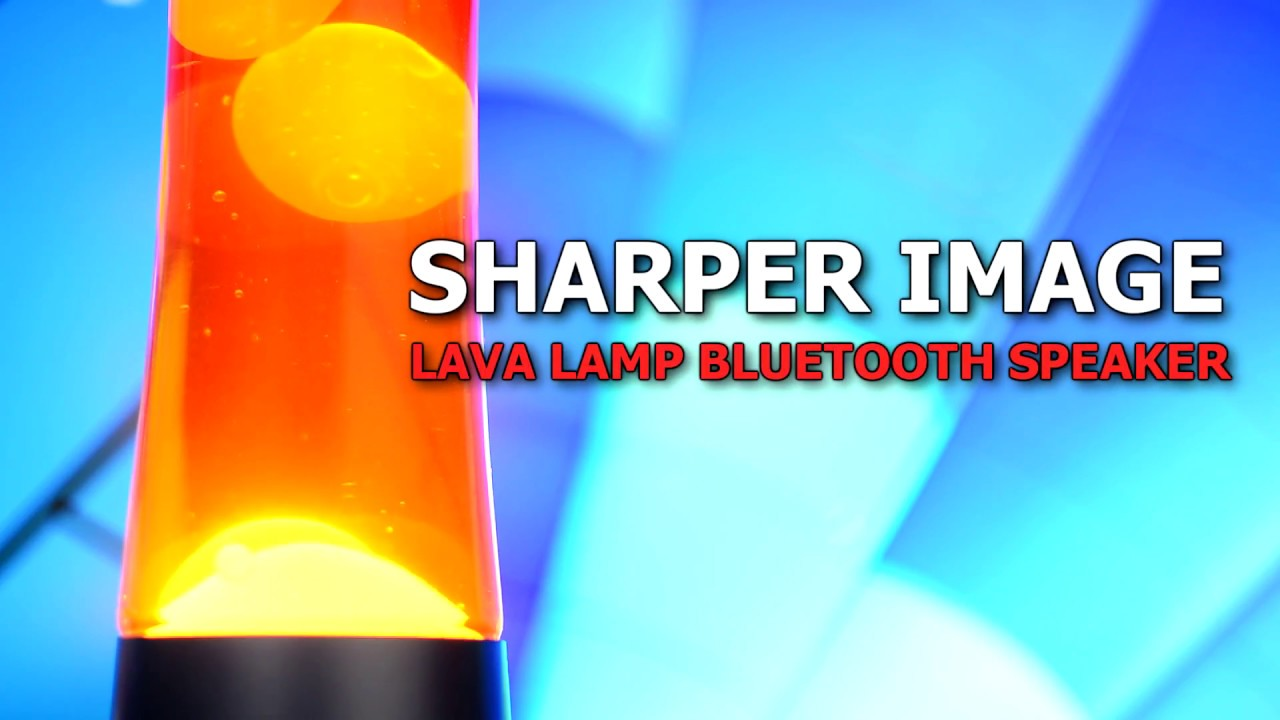 Sharper Image Motion Lamp U0026 Wireless Speaker Overview