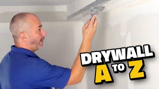 How To Install Drywall A To Z | Diy Tutorial