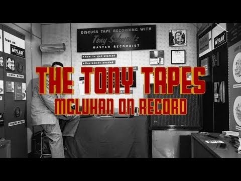 Marshall McLuhan 1967 - The Tony Schwartz Tapes On The Museum Without Walls