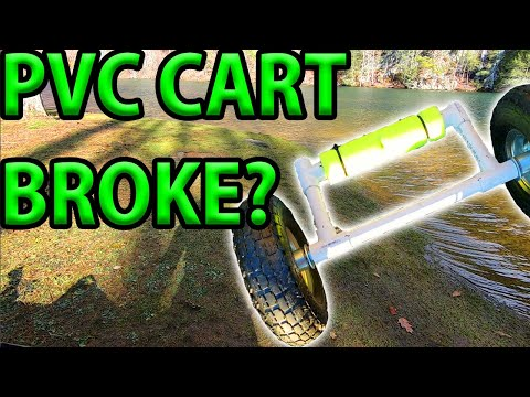 Watch This Before You Build A PVC Kayak Cart! How Did Mine Break?
