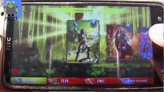 Order & Chaos Duels - FR - Gameplay - test - Jeux Magic pour Android