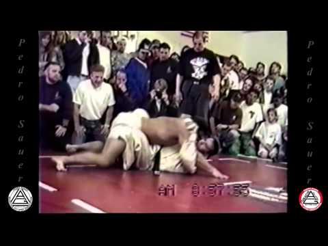Small BJJ Fighter Takes On Monster Bodybuilder Mr. Utah (No Holds Barred 1994)