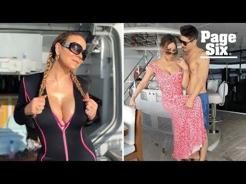 Mariah Carey's Thirsty Yacht 'baecation'