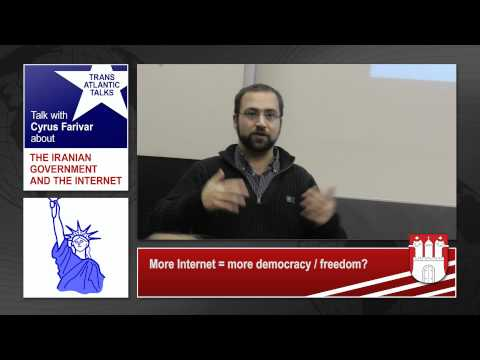cfarivar: The Iranian government and the internet - Hamburg 8th Dec 2011 - Part 3