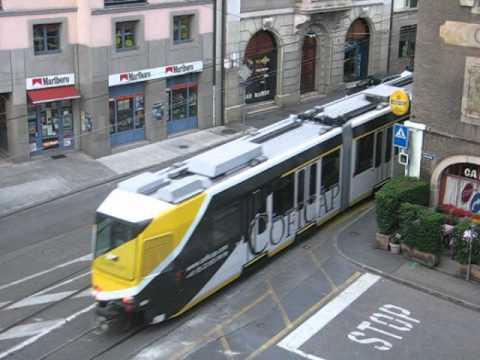 Sistema Transporte en Ginebra Suiza 5.AVI - YouTube