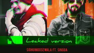 Revolver || Sidhu moosewala ft. Singga || Leaked version || HIT GEET