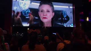 Star Wars The Last Jedi Trailer Reaction with Disney Crowd