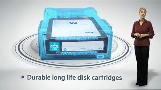 RDX - Removable Disk Storage: RDX 1TB, RDX 2TB, RDX 3TB Cartridges