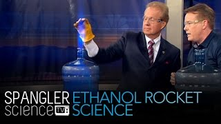 Ethanol Rocket Science - Cool Science Experiment
