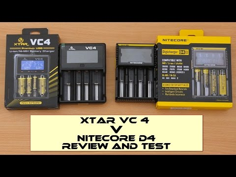 xtar-vc4-v-nitecore-d4---charger-review-and-test