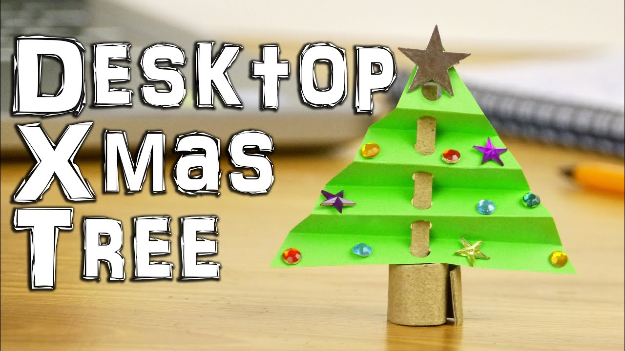 desktop christmas tree decoration youtube