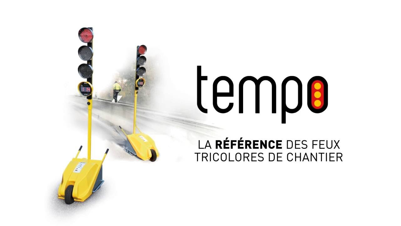 tempo feux tricolores de chantiers tts youtube