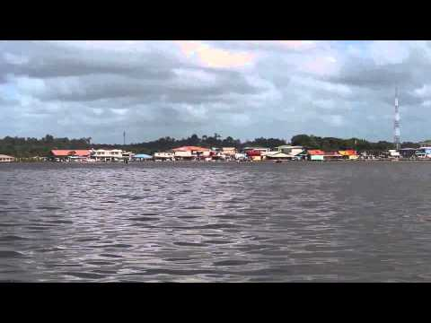 St Laurent du Maroni (French Guiana) to Albina (Suriname) Border Cross By River