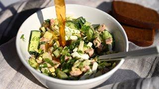 Огурец картошка яйца буду все лето готовить это блюдо Мой рецепт Окрошки