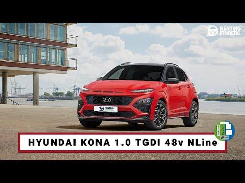 renting Hyundai KonaTGDI 1.0 48V NLine