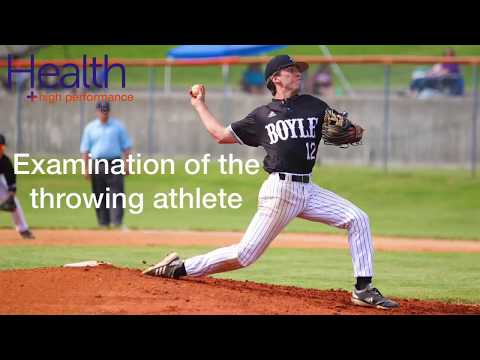 Assessment of the throwing & overhead athlete   Melbourne Sports Chiropractor