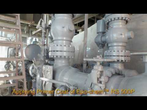 Sweating Pipe Coating - Offshore Platform