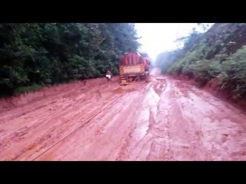 Oiapoque 2014 - Estrada que liga Macapá a Oiapoque