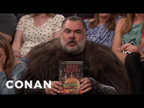 A Disappointed Super Fan Interrupts The Show - CONAN on TBS