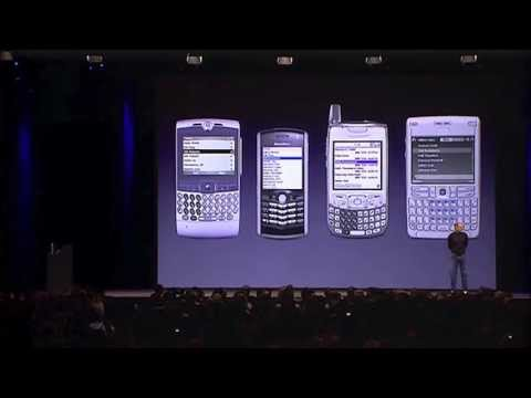 iPhone 1 - Steve Jobs MacWorld keynote in 2007 - Full Presentation, 80 mins