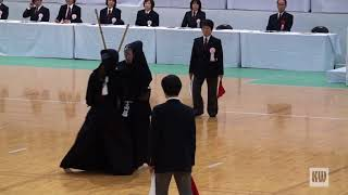 56th All Japan Women's Kendo Championships - Final