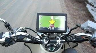 Eka testi uudella navigaattorilla